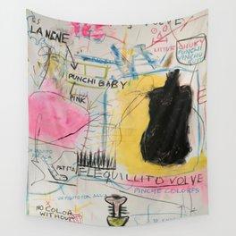 Simona's Eyes Wall Tapestry