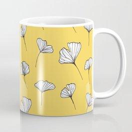 Ginkgo Biloba Leaves Pattern #society6 #decor #buyart Coffee Mug