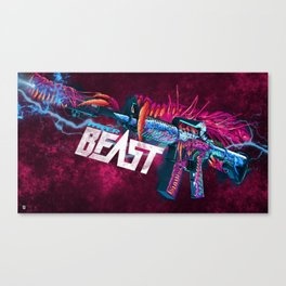 Machine Gun 9 Canvas Print