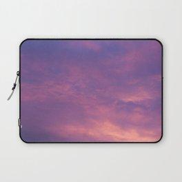 Peach & Violet Blaze Laptop Sleeve