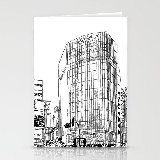 Tokyo - Shibuya Stationery Cards