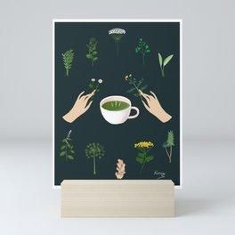 Magical Herbal Tea Mini Art Print