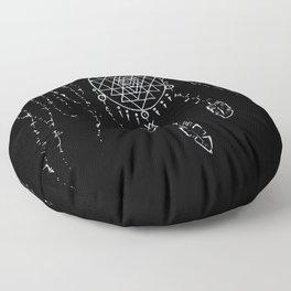 Shri Yantra / Dream Catcher Floor Pillow