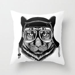 Phanter Speed Rebel Throw Pillow