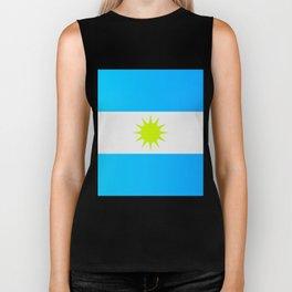 Argentine flag Biker Tank
