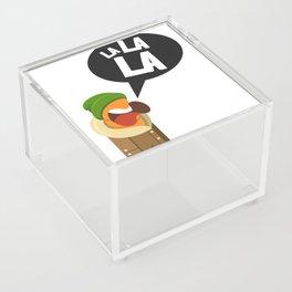 Hipster carrot Acrylic Box