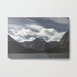 Swiftcurrent Lake Metal Print