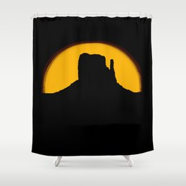 Monument Valley - Left Hand #2 Shower Curtain