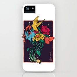 Seeds of Inspiration iPhone Case