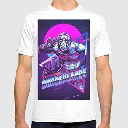 gaming borderlands retro art T-shirt