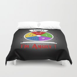 I am Angry Duvet Cover