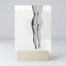 Naked Walk Mini Art Print