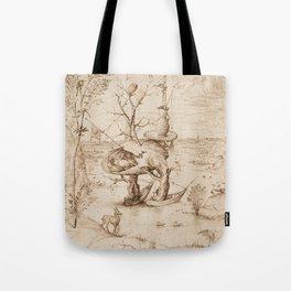 Hieronymus Bosch - The Tree-Man Tote Bag