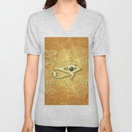 The all seeing eye Unisex V-Neck