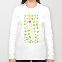 jamaica Long Sleeve T-shirts featuring Jamaica Stuff by GEEFROG