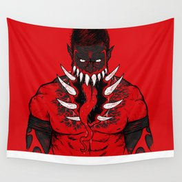 The King Demon  Wall Tapestry