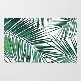 Palm Leaves - Green Cali Vibes #2 #tropical #decor #art #society6 Rug