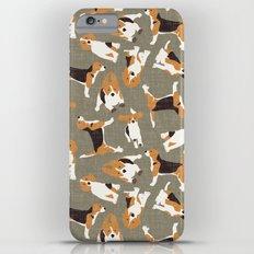 beagle scatter stone Slim Case iPhone 6s Plus