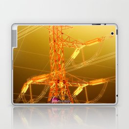 Energy in Gold Laptop & iPad Skin