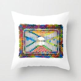 Magic cross Throw Pillow