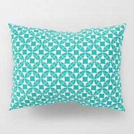 mod circles Pillow Sham