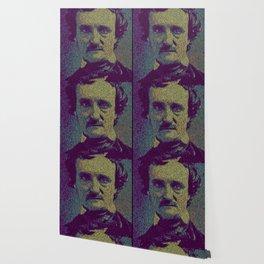 Edgar Allan Poe. Wallpaper