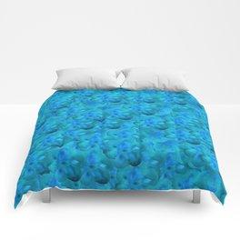 Blue in Bloom Comforters