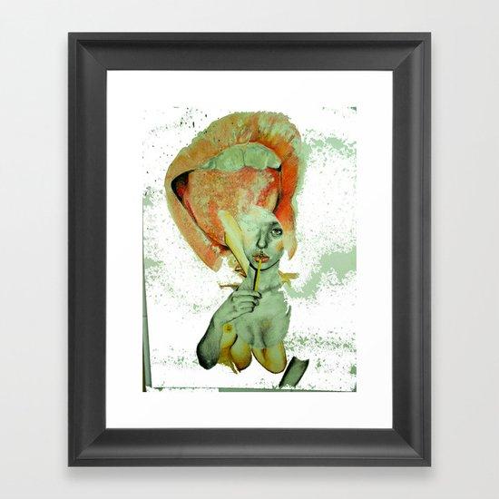 calibrate Framed Art Print
