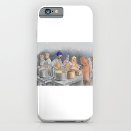 Langar Community Kitchen iPhone Case