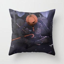 Bones Original Artwork Throw Pillow