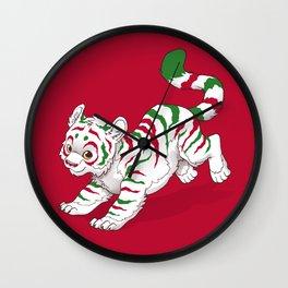 Candy Tiger Wall Clock