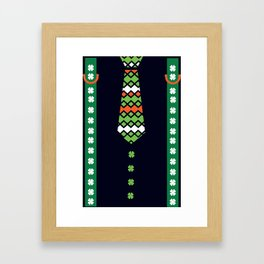 St.Patrick's day look Framed Art Print