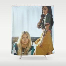 Kehlani x Hayley Kiyoko 2 Shower Curtain