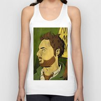 watchmen Tank Tops featuring It's Always Sunny in Watchmen - Charlie by Jessica On Paper