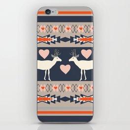 Romantic deer iPhone Skin