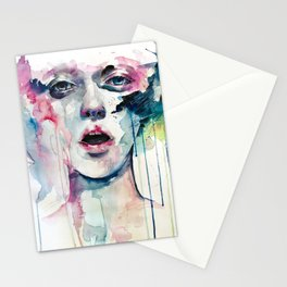 learn to bloom Stationery Cards