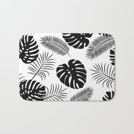 TROPICAL LEAVES 7 Bath Mat