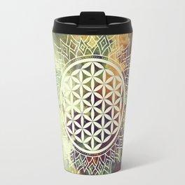 Flower Of Life (Nature's Beauty) Travel Mug