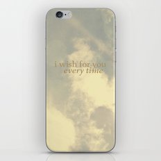 I Wish for You  iPhone & iPod Skin