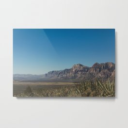 Desert View Metal Print