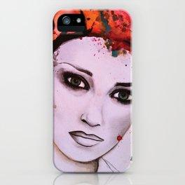 Kristin iPhone Case