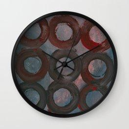 Murder Mystery Wall Clock