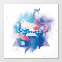 30 seconds to mars Canvas Prints featuring 30 Seconds to Mars by Rose's Creation