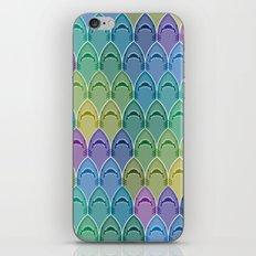 Shark Pattern iPhone Skin
