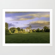The Old country house Art Print