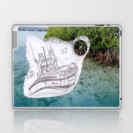 Sailing Blue Laptop & iPad Skin