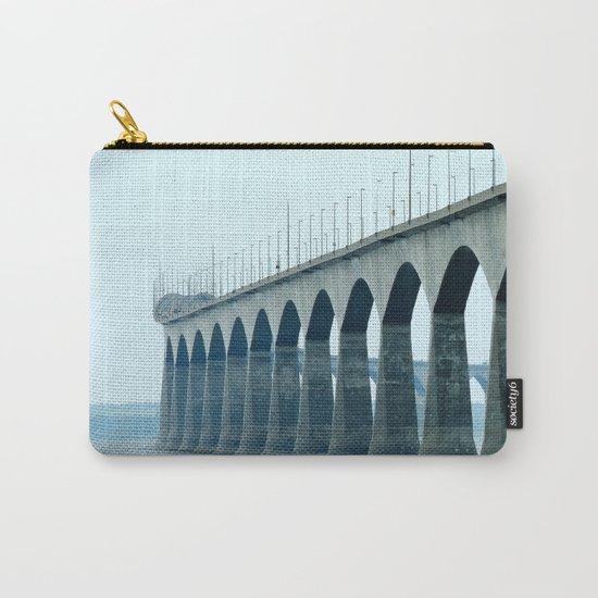 Confederation Bridge Prince Edward Island Carry-All Pouch