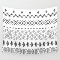nordic Wall Tapestries featuring NORDIC by Annet Weelink Design