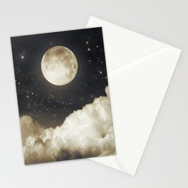 Touch of the moon I Stationery Cards