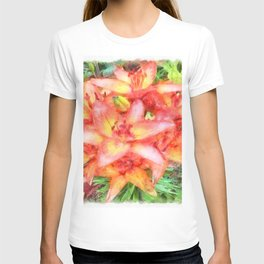 Helen's Lilies Watercolor T-shirt